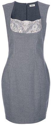 L'Agence lace detail dress