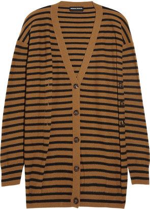 Sonia Rykiel Striped wool and cashmere-blend cardigan
