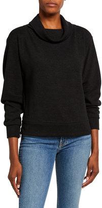 Varley Huntly Cowl-Neck Side-Zip Sweater