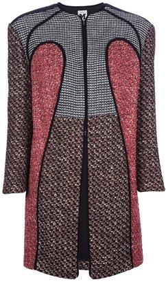 M Missoni tweed coat