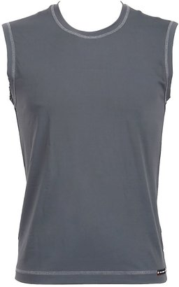 Stretch Techno Jersey Tank Top $116 thestylecure.com