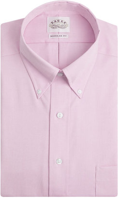 Eagle Men's Classic-Fit Non-Iron Pink Twill Dress Shirt $69.50 thestylecure.com