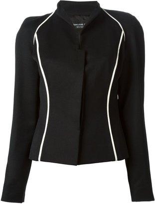 Jean Louis Scherrer Pre-Owned contrast trim jacket