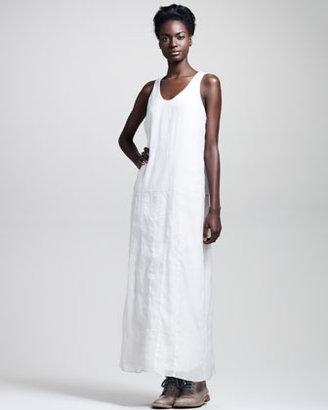 Brunello Cucinelli Sleeveless Organza Maxi Dress