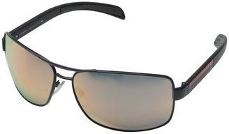 Prada Linea Rossa 0PS 54IS Metal Frame Fashion Sunglasses