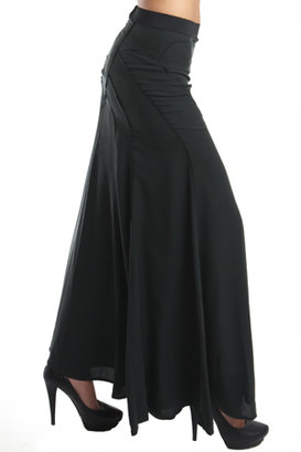 Edun Seamed Maxi Skirt Bottle