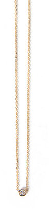 Rebecca Taylor Barely There Diamond Necklace