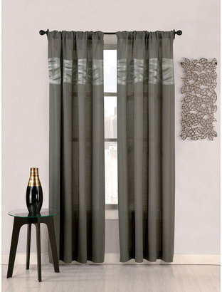 Umbra Wave Rod-Pocket Sheer Curtain Panel