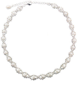 Charter Club Infinity Round Necklace