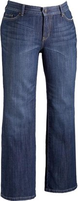 Old Navy Women's Plus Tummy-Trimmer Boot-Cut Jeans