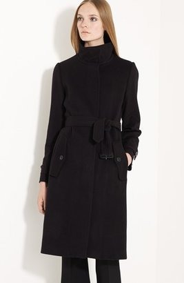 Burberry Belted Wool & Cashmere Coat