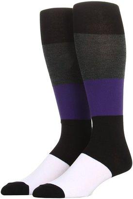 Anne Klein Herringbone/Color Block Knee High Women's Knee High Socks Shoes