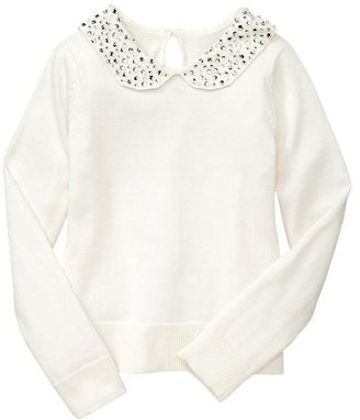 Gap Embellished Peter Pan sweater