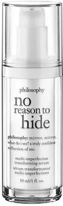 Philosophy 'No Reason To Hide' Multi-Imperfection Transforming Serum $68 thestylecure.com