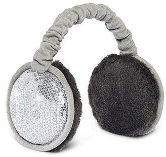JCPenney Sequin Earmuffs