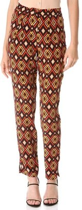 Issa Print Trousers