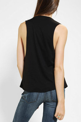Urban Outfitters Corner Shop Glow-In-The-Dark Moons Muscle Tee