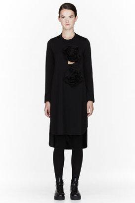 Comme des Garcons Black Rose shift Dress