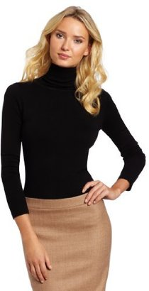 French Connection Women's Bambi Solid Knit Turtle Neck Sweater