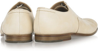 Mhl By Margaret Howell Brushed-leather brogues