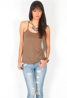 Singer22 Chaser T Back Layering Cami in Birch