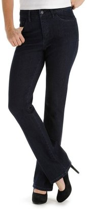 Lee adele classic fit bootcut jeans - petite