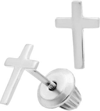 Silver Cross Mignonette Sterling Earrings