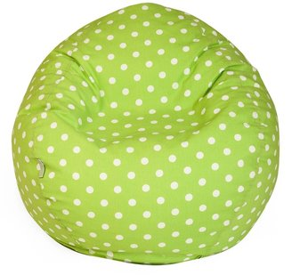 Majestic Home Goods Polka-Dot Small Beanbag Chair