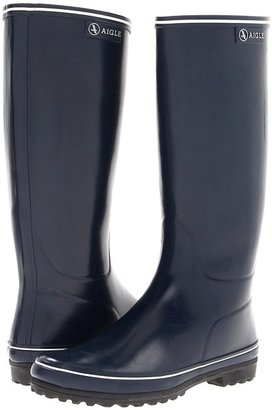 Aigle Venise (Black/White) - Footwear