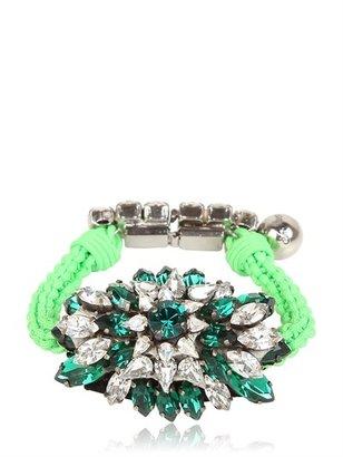 Shourouk Baraka Sierra Emerald Bracelet