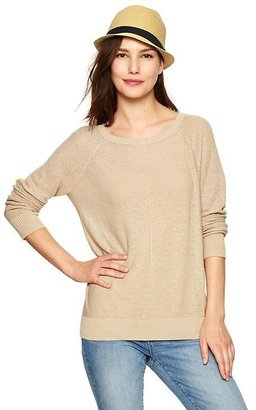 Gap Contrast-sleeve sweater