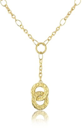 Torrini Insieme - Hammered 18K Gold Drop Necklace