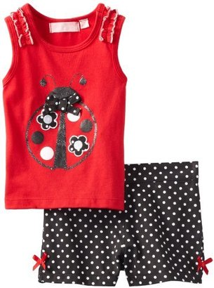 Kids Headquarters Girls 2-6X Top With...