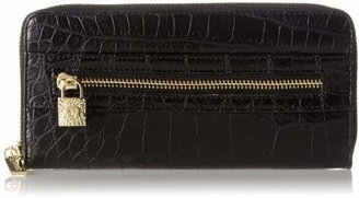 Anne Klein Alligator Alley Zip-Around Wallet $40 thestylecure.com