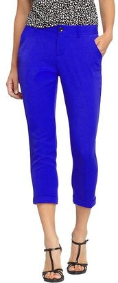 "Old Navy Women's Trouser-Style Cropped Pants (25"")"