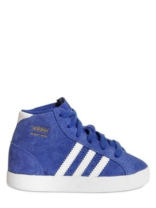 adidas Suede High Top Sneakers