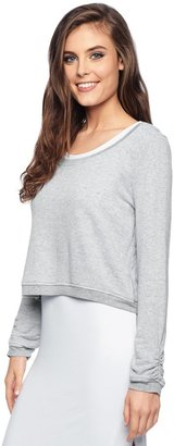 Splendid French Terry Crop Pullover