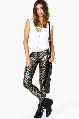 Nasty Gal Frankie B. Night Cat Skinny Jeans