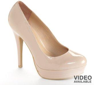 Lauren Conrad platform high heels - women