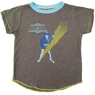 Rowdy Sprout Boy's ACDC Short Sleeve Tee - Brown