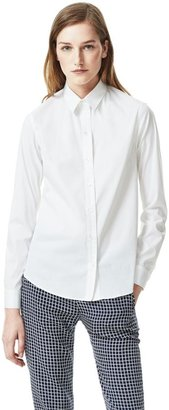 Theory Yasa Shirt in Luxe Cotton Blend