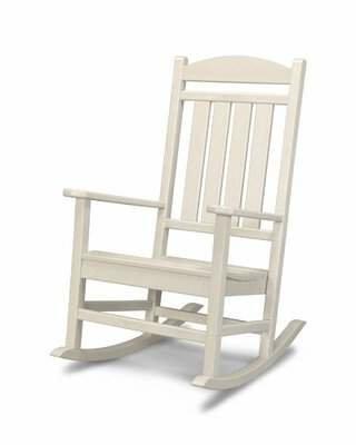 Polywood Presidential Rocking Chair Color: Aruba