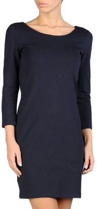 Armani Jeans Milano Knit Dress In Stretch Lyocell