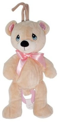 Precious Moments Bear Musical Pull Toy, Girl