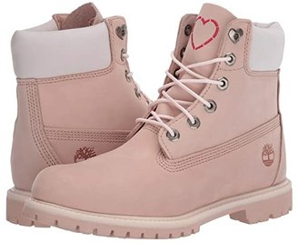 Timberland 6 Premium Boot (Wheat Nubuck) Women's Lace-up Boots