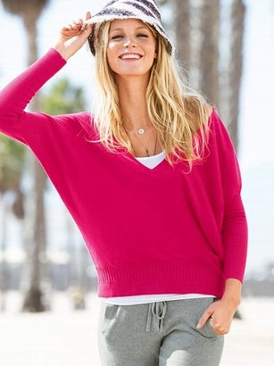 Victoria's Secret Double V-neck Sweater