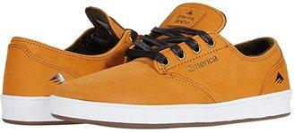 Emerica The Romero Laced (Black/Black/White) Men's Skate Shoes