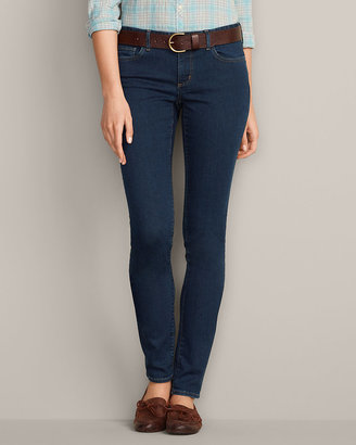 Eddie Bauer Women's StayShape® Skinny Jeans - Slightly Curvy