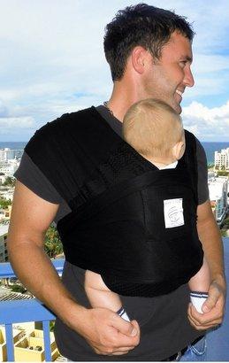Baby K'tan Breeze Baby Wrap - Black - Large