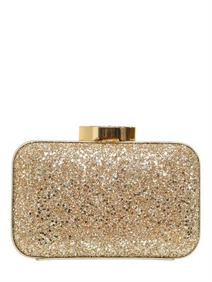 Lulu Guinness Fifi Glittered Clutch